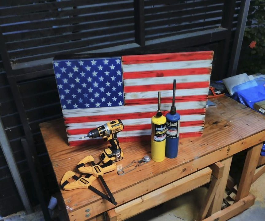 American Flag Concealed Gun Compartment That Hangs On Wall : 8 Steps (with  Pictures)