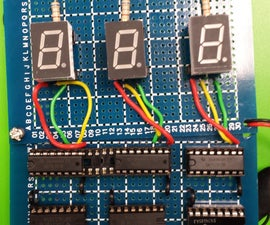 Binary to BCD Counter Using TTL's 74LS185