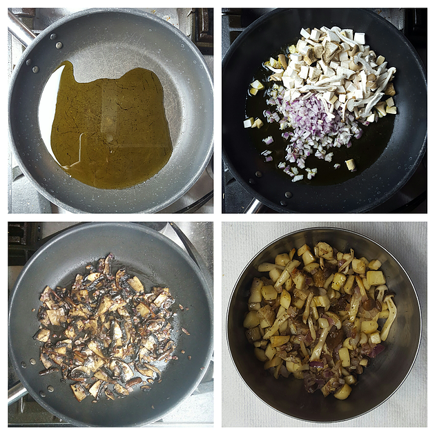 Picture of Prepare Mushrooms and Onions