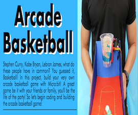 Micro:bit Basketball Arcade Game (DMP)