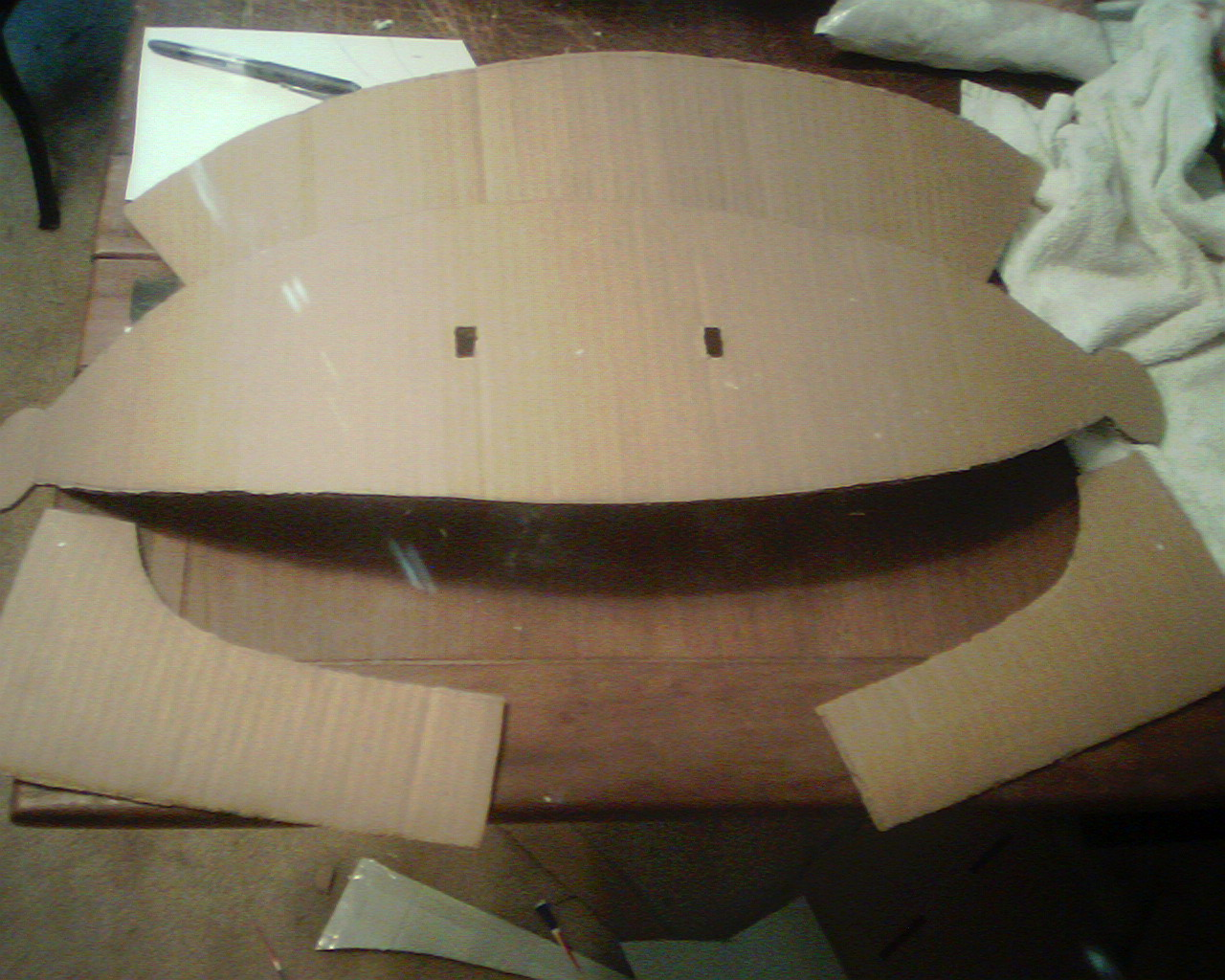 Picture of Making It More Helmet-Like