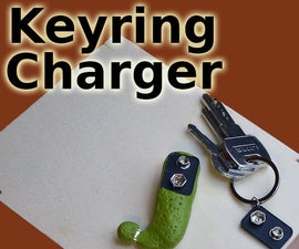 Keyring Phone Charger