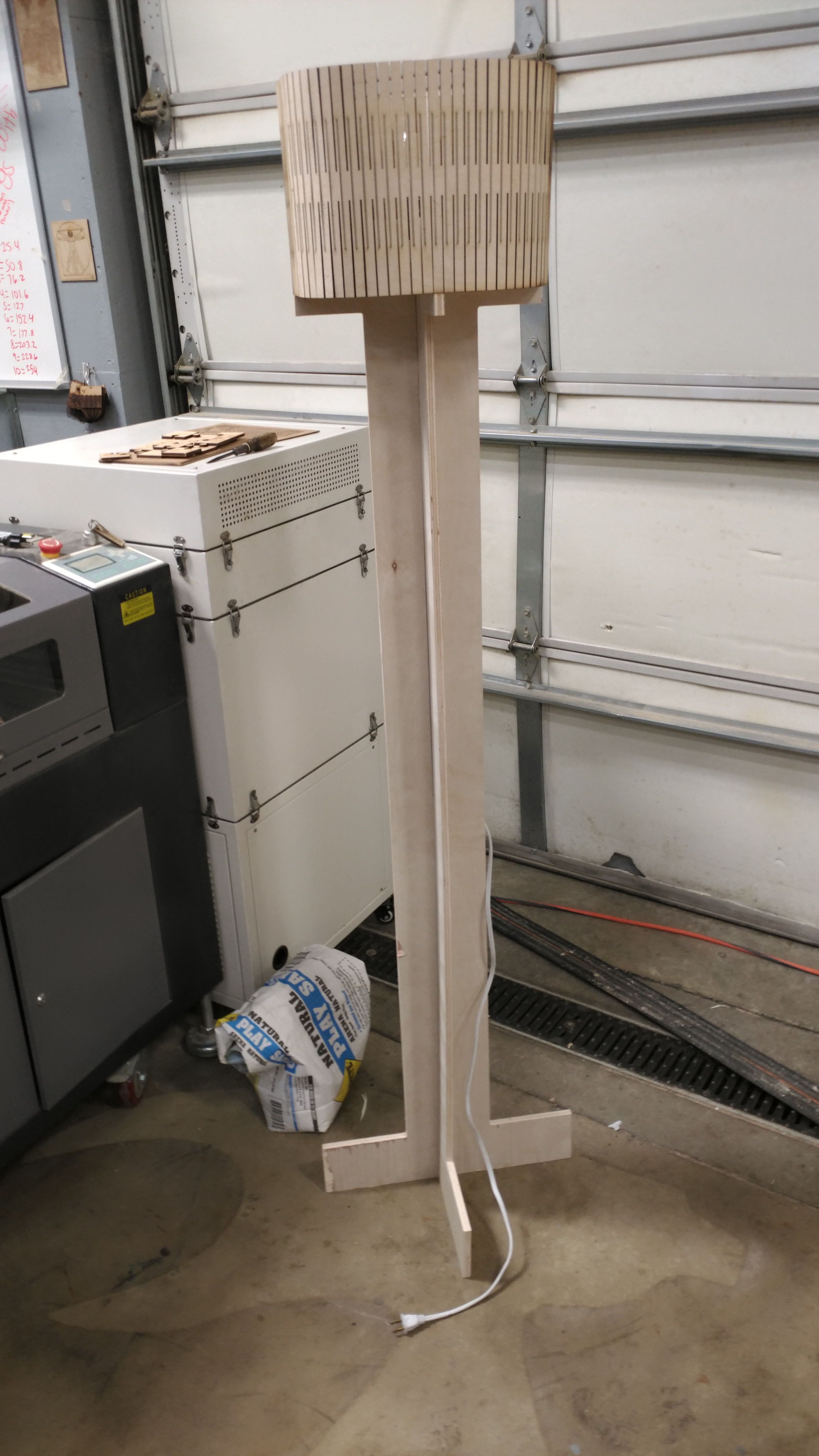 Picture of Simple CNC Lamp