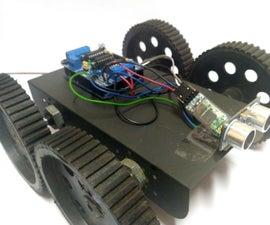 Obstacle Avoiding Robot Using Arduino Uno