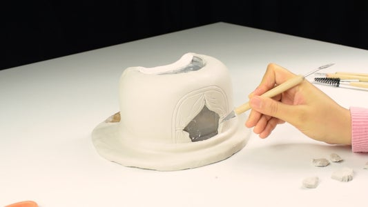 Cover With Paper Clay