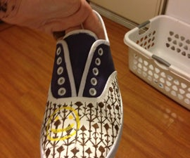 How To- Sherlock Painted Shoes