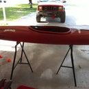 5 minute IKEA Kayak/Canoe Stand