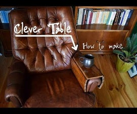 Clever Table for Armchair, Couch or Laptop