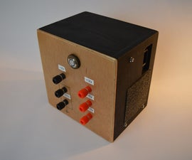 A Sleak Bench Power Supply From PC PSU
