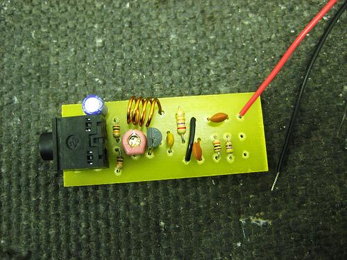 Picture of Assembling a Niftymitter V0.24 Board - a Short Range FM Transmitter
