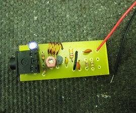 Assembling a Niftymitter v0.24 board - a short range FM transmitter