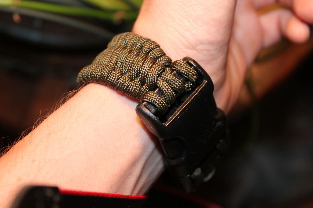 Picture of Multi Use Tactical Belt With Bracelet