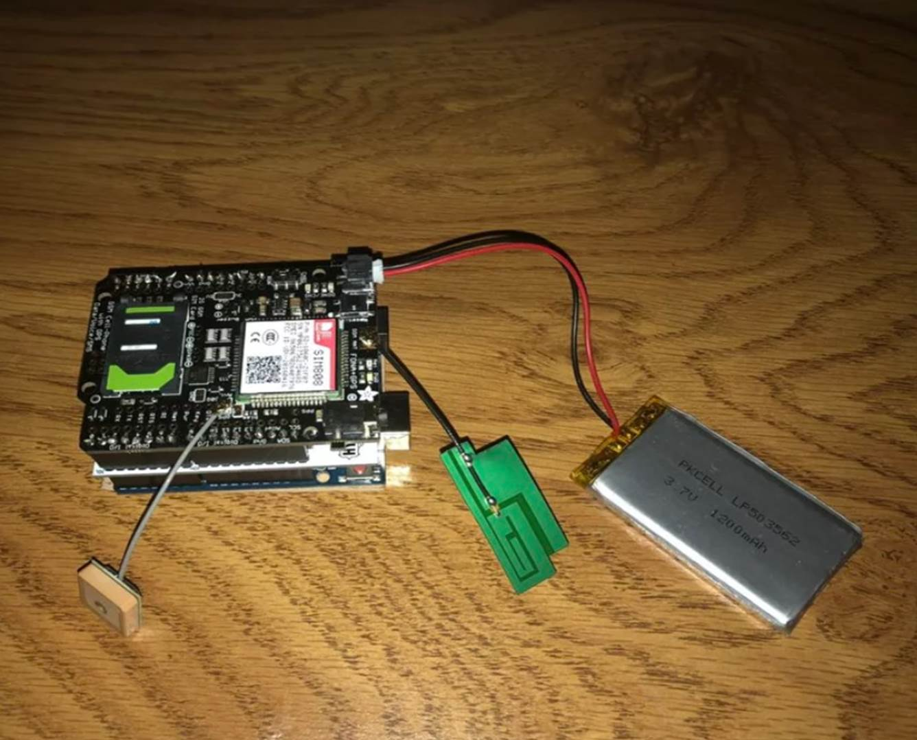 Picture of CarDuino (A Hyperduino and FONA 808 GPS Tracking System)