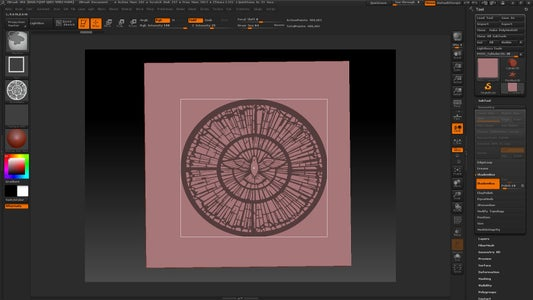 Zbrush Shadow Box and Refine