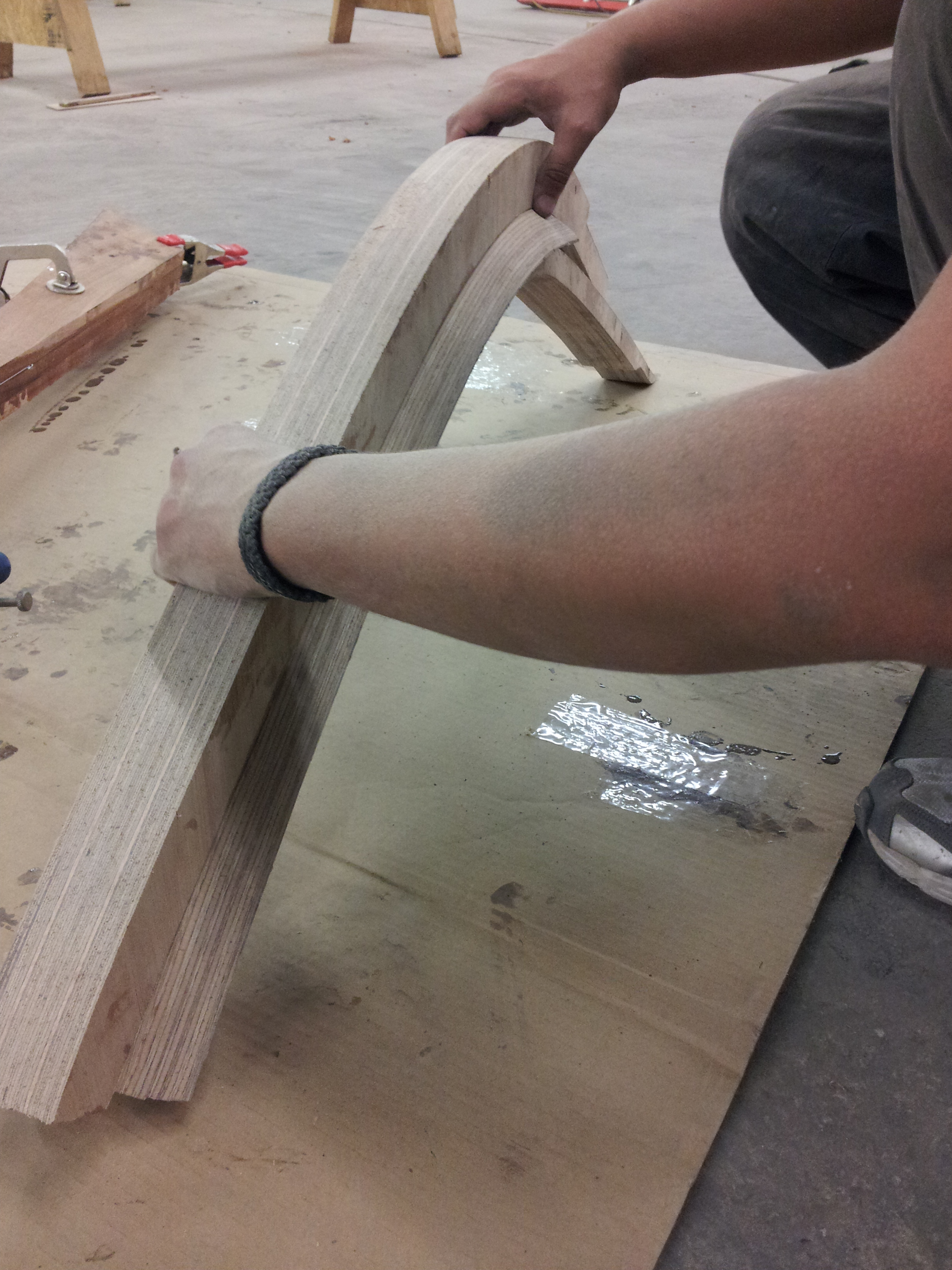 Picture of Begin Work on the Stem and Keel