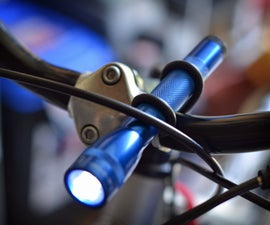 30 Cent 30 Second 0 Weight Mini-Maglight Handlebar Mount