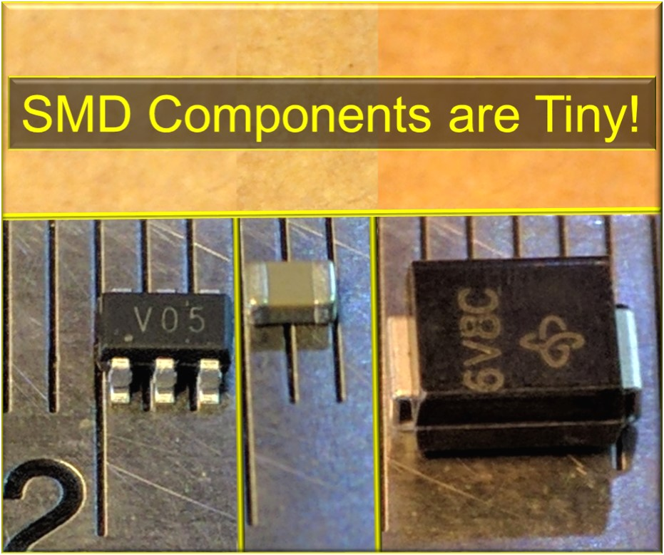 Picture of How to Solder SMD / SMT Components With a Soldering Iron