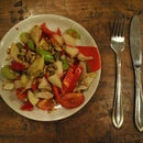 Belgian endive, amsterdam' stylo salad