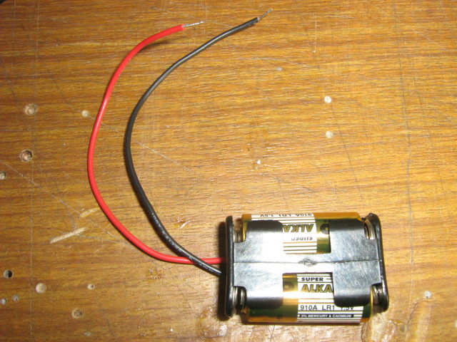 Picture of Electronics (motor and Batteries)