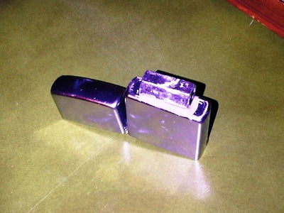 Attach Coupling Nut to the Zippo