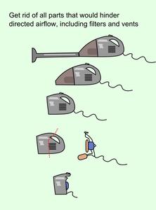 Preparing the Vacuum