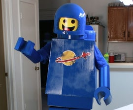 Make a Lego Man Costume (Lego Movie Benny)