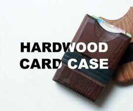 Hardwood Card Case