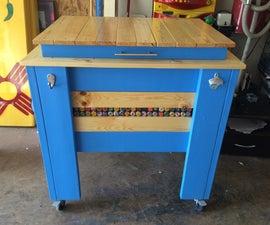 Wooden Cooler