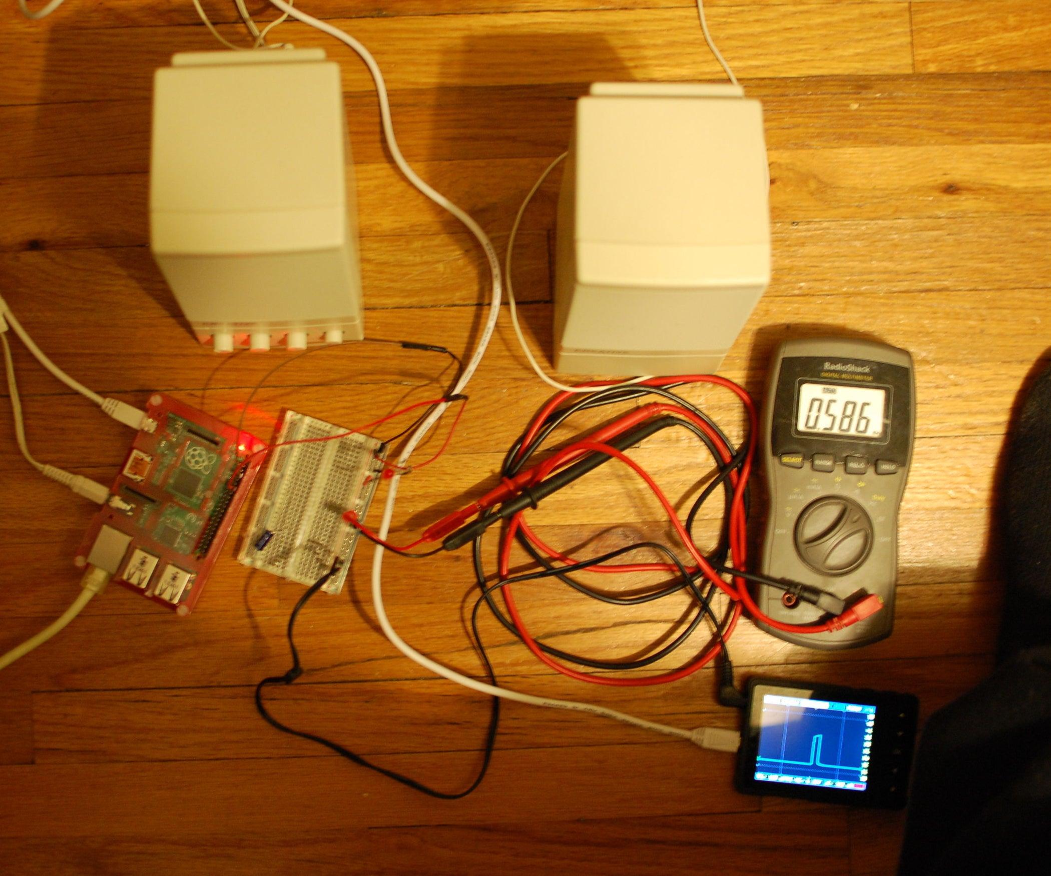 Raspberrypi Pulse Width Modulation Demonstration 9 Steps Wiringpi Pwm Set Clock
