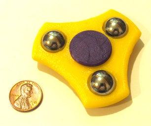 Compact Fidget Spinner