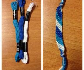 How to Make a Striped Friendship Bracelet