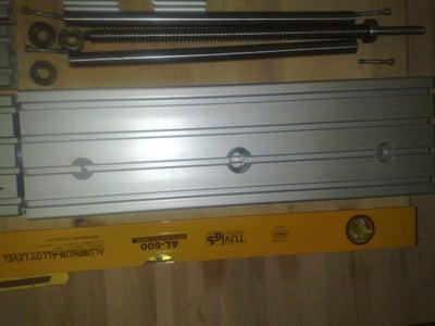 Machining Mechanical Components - Aluminum Profiles