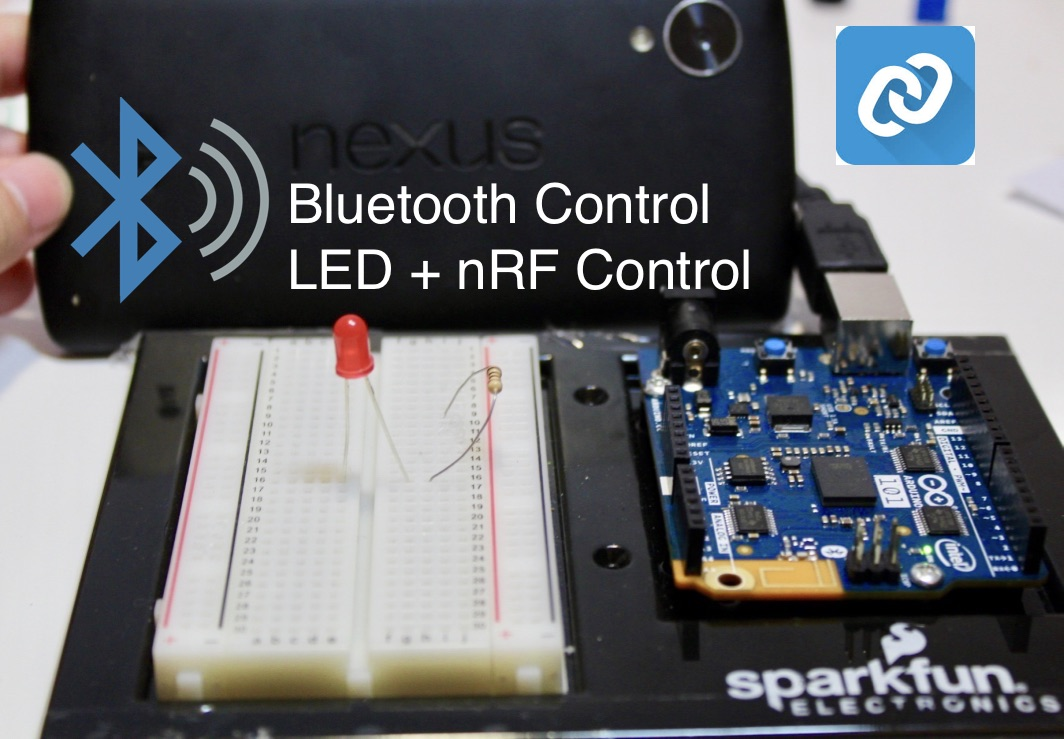 Picture of LED Bluetooth Control Using NRF Connect
