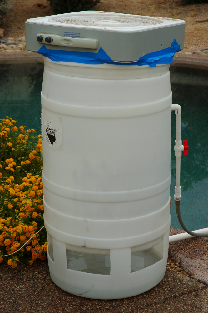 Picture of DIY Swimming Pool Cooler.
