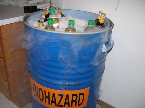 Biohazard Beer Barrel