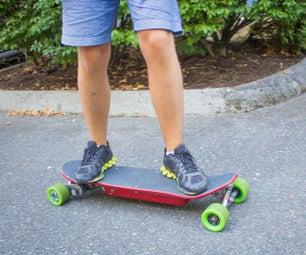 Electric Skateboard V2.0: Smartphone Controlled