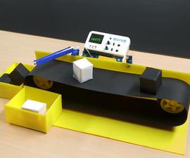 Color Sorting Machine Using Evive- Arduino Based Embedded Platform