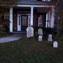 Fake Halloween Tombstones