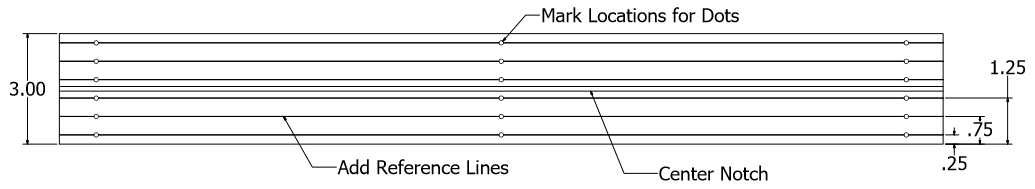 Picture of Length and Guide Lines