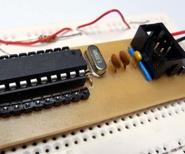Make a breadboard adapter for your AVR microcontroller