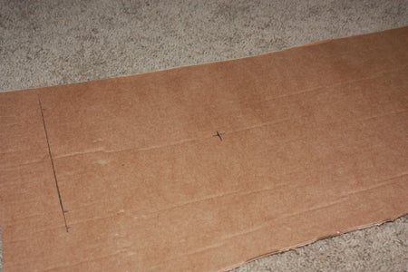 Measure and Cut the Cardboard.