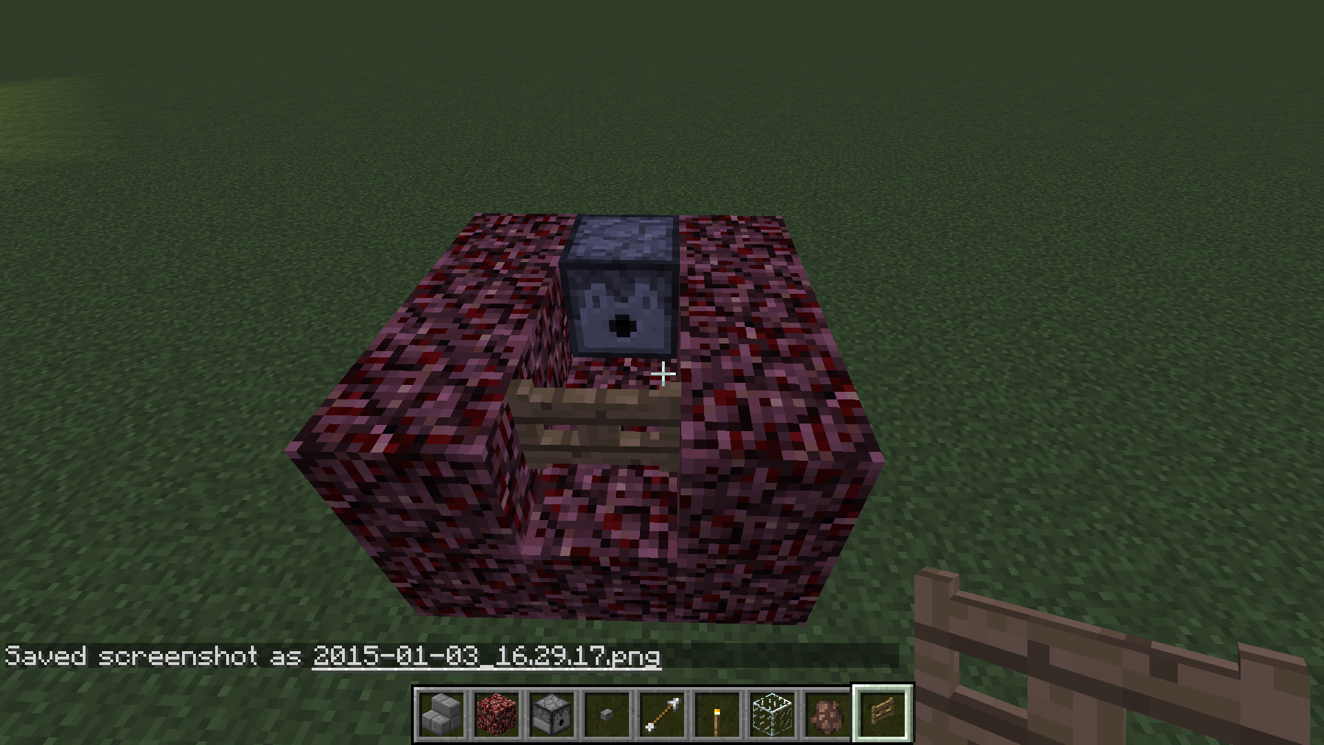 Picture of Place the Cannon and Anti-lava Blockage