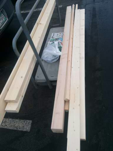Picture of Gather Your Lumber and Supplies