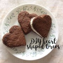 Heart Shaped Oreos Valentines DIY