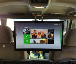 Put A 19in Tv And Game Console In Your Car