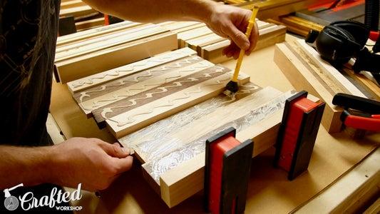 Plane Pieces & Glue Up Cutting Board Blanks