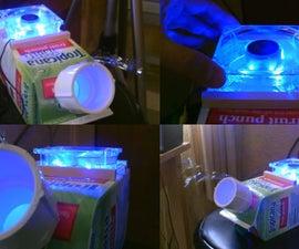 The (Juice Carton) Air Cooler! - Homemade AC Air Cooler! - Simple DIY - Can Be Solar Powered!