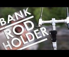 PVC Bank Fishing Rod Holder [DIY]   EP. 22