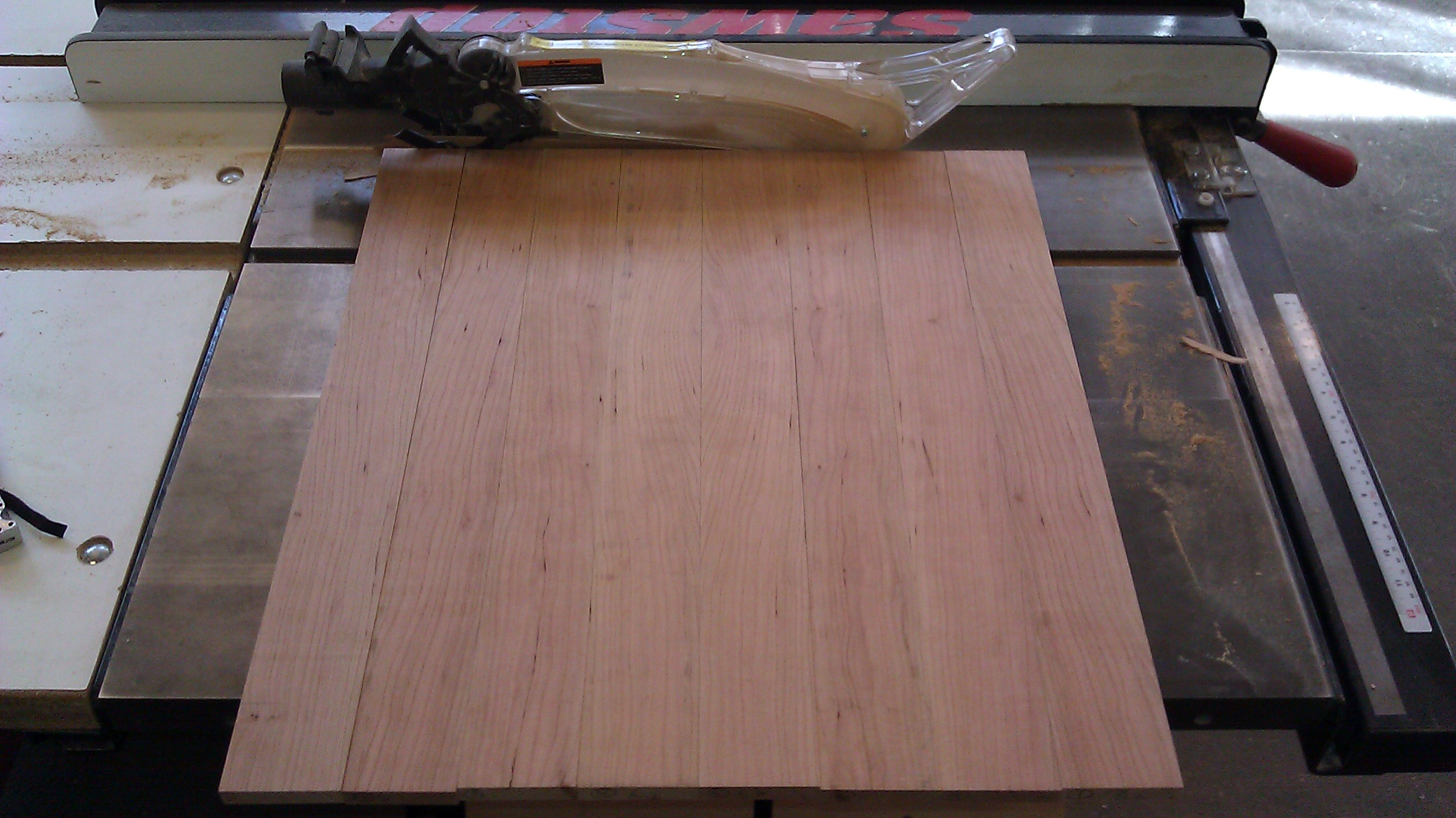 Picture of Last Cut on the Tablesaw