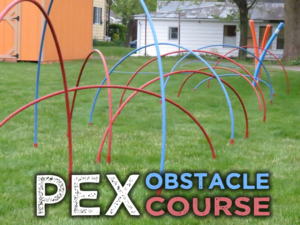 Picture of PEX Obstacle Course